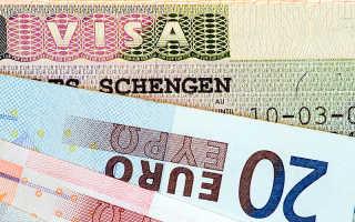 Какая сумма должна быть на счету для получения шенгенской визы