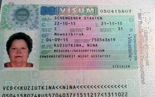 Процесс получения германской визы