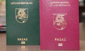 Проверка готовности литовской визы