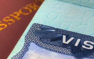 Стоимость оформления виз