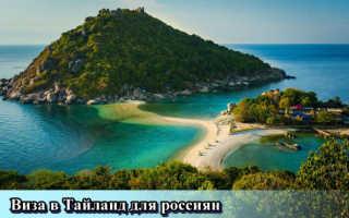 Правила оформления визы в Таиланд для российских граждан в 2020 году