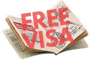 В какие страны можно попасть без шенгена?