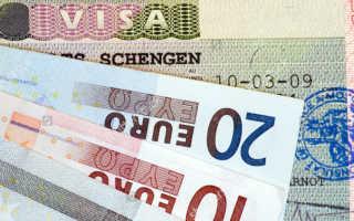 Cтоимость литовской визы  в 2019 году