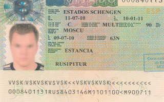 Список необходимых документов для получения визы в Испанию