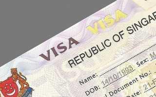 Как оформить визу в Сингапур для российских граждан в 2020 году