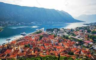 Кому требуется виза для въезда в Черногорию