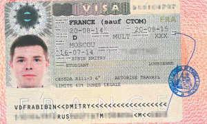 Правильное заполнение визовой анкеты для полета во Францию