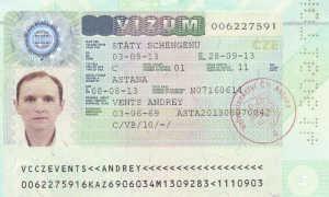 Виды чешских виз