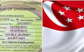 Как оформить визу в Сингапур