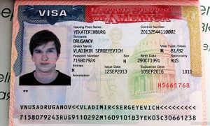 Сколько делается виза в США