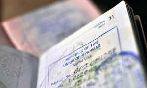 Однократные и многократные визы