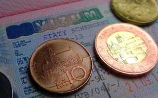 Перечень документов для оформления разных типов чешских виз