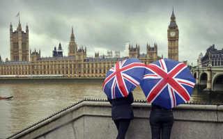 Заполнение анкеты на визу в Англию