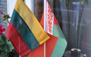 Как получить шенгенскую визу в Литву для белорусов самостоятельно