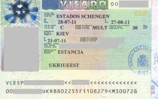 Виды виз в Испанию по сроку действия