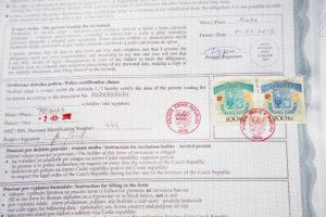 Приглашение в Чехию