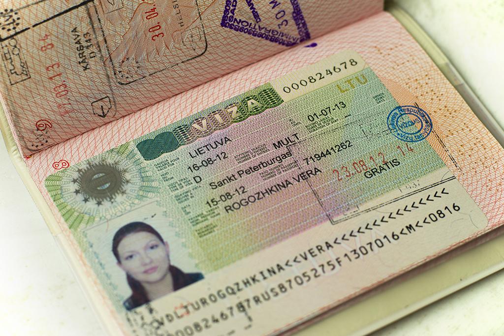 Национальная виза D в Литву