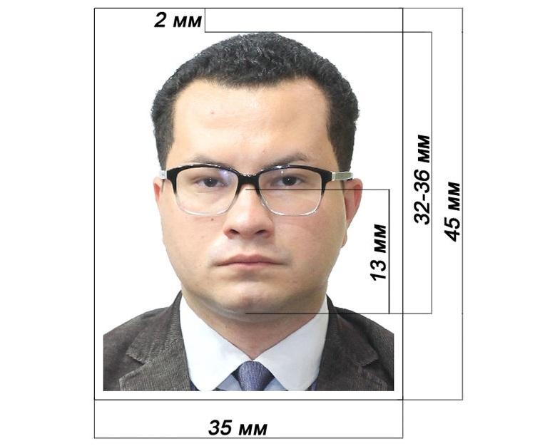 Разрешается делать фото в очках или линзах