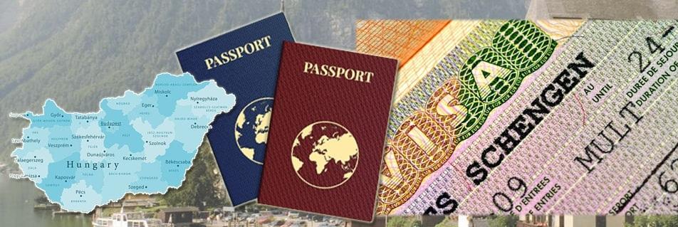 Cтоимость разных типов виз в Венгрию