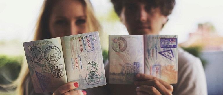 Гостевая визы.
