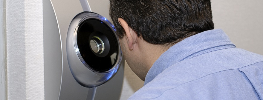 Биометрический сканер сетчатки глаза