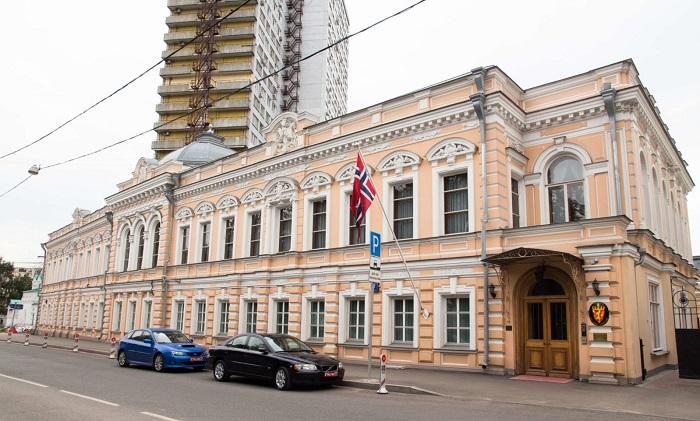 Посольство Норвегии в Москве