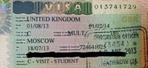 Студенческая виза в Англию Student Visitor Visa