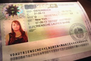 Виза в Австрию категории B (транзитная)