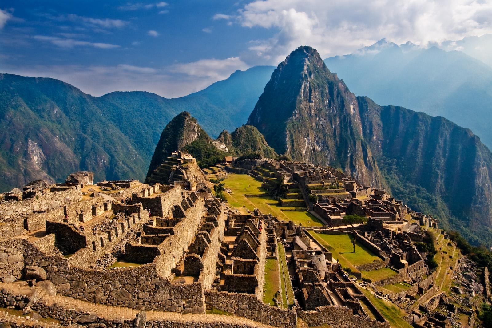 Древний храм Перу