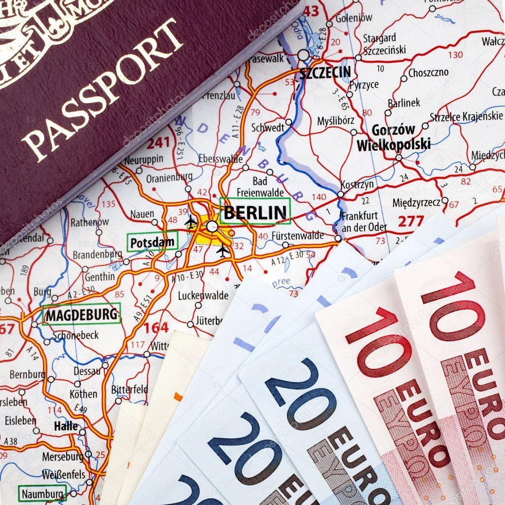 Евро и паспорт
