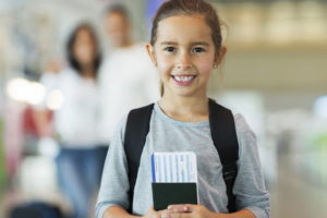 виза для несовершеннолетних