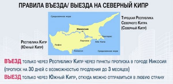 Правила въезда на Северный Кипр
