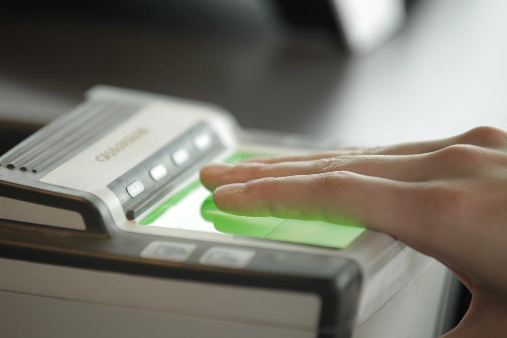 взятие биометрии для визы