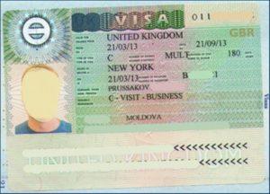 Бизнес-виза в Англию