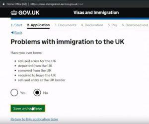 Далее идет блок вопросов, который касается возможных проблем с иммиграционной службой Англии и других стран