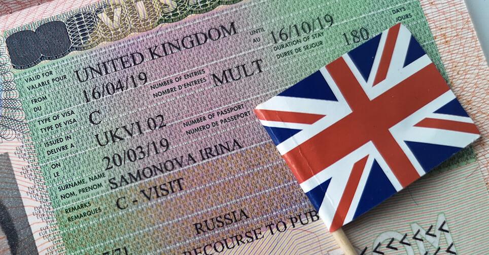 Какая нужна виза для поездки в Англию