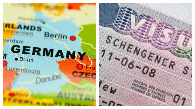Немецкая шенгенская виза