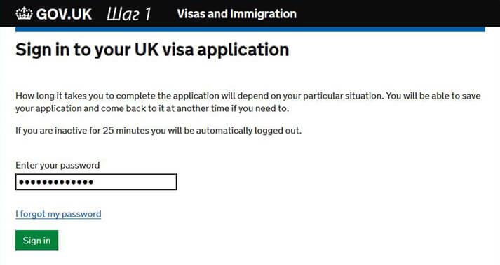 Проверка готовности визы