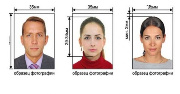 Требования к фото на визу