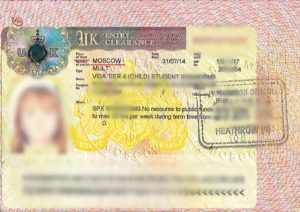 Tier 4 Child Visa
