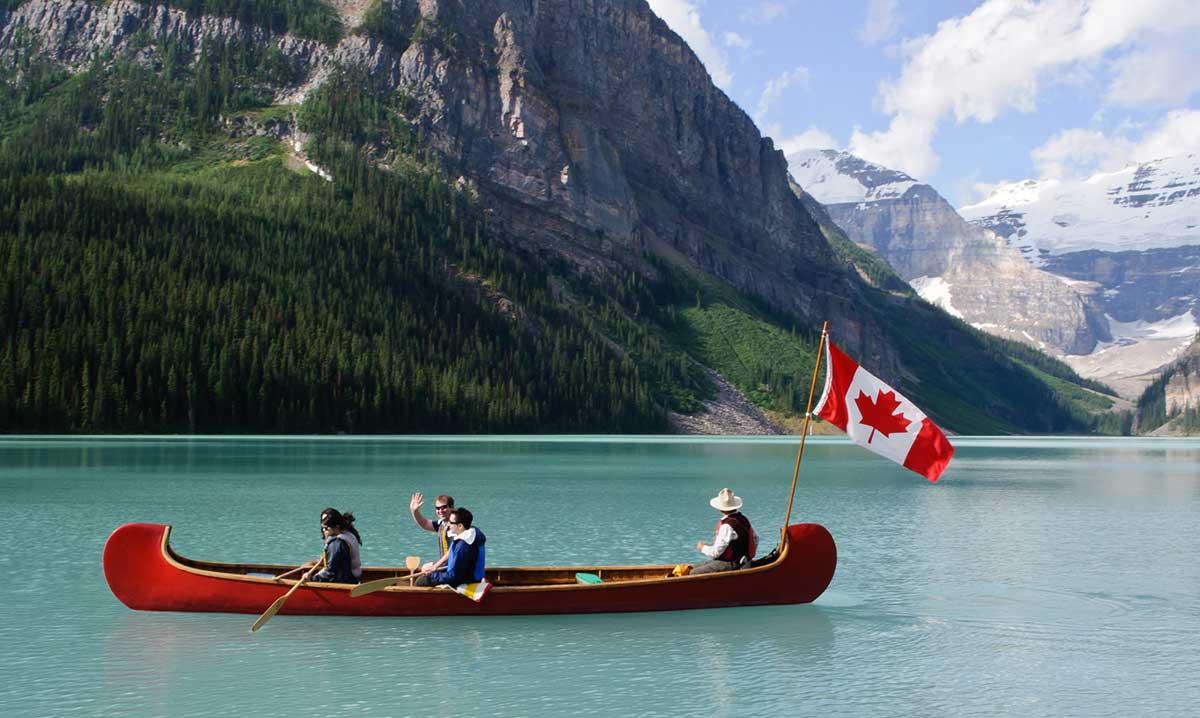 Турист в Канаде