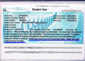 Виза в Новую Зеландию для студентов