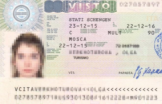 Шенген на год