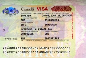 Иммиграционная виза в Канаду