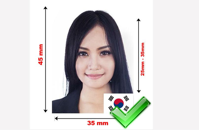 китайская виза требования к фото