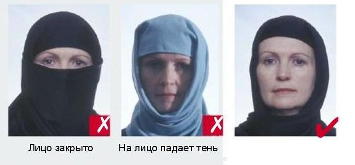 Мусульманкам разрешается фотографироваться в хиджабах