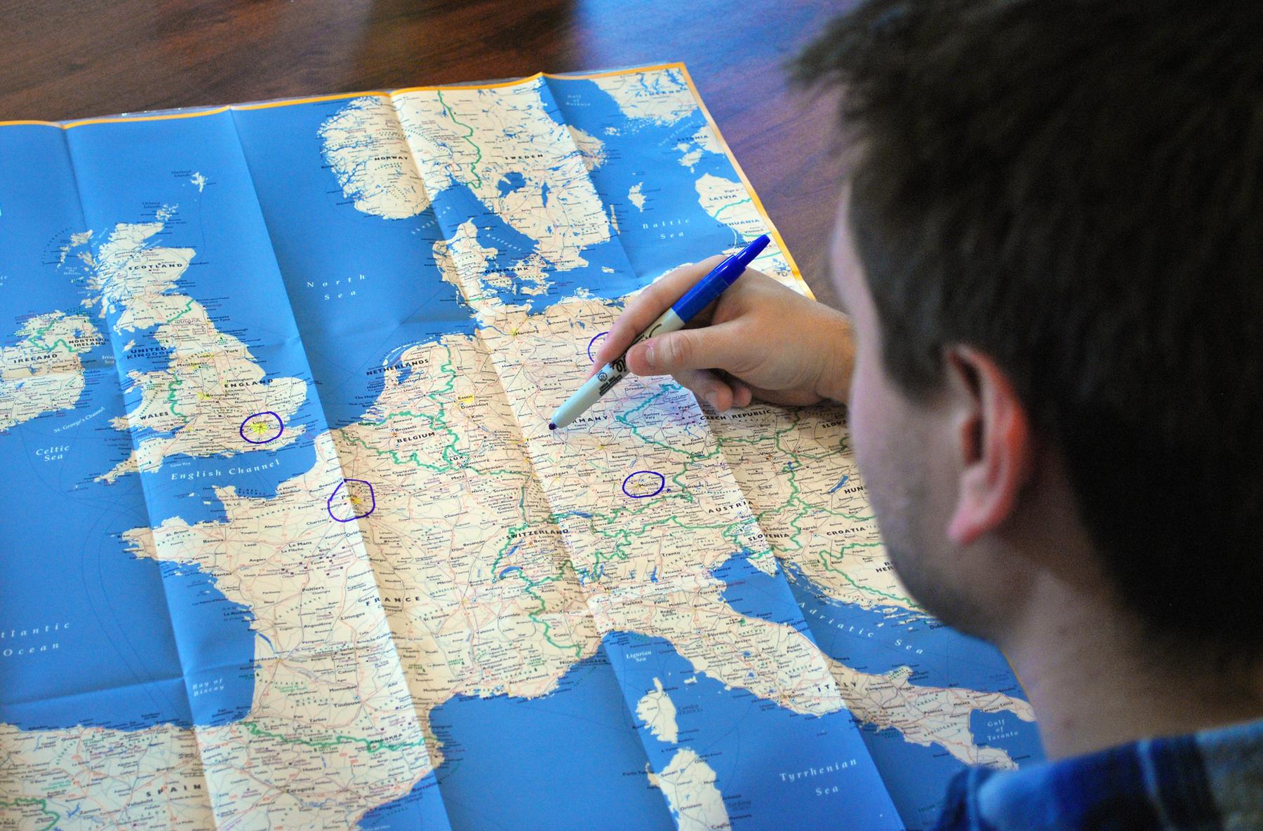 Оформление маршрутного листа для шенгенской визы