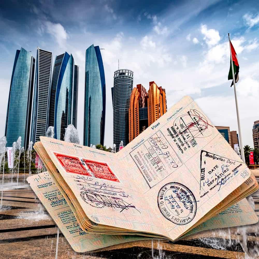 Сколько стоит оформить визу в ОАЭ