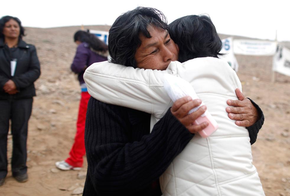 Спасение чилийских шахтеров