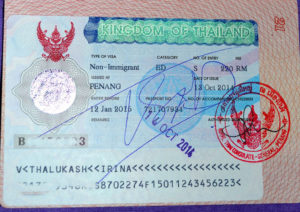 Студенческая виза в Таиланд